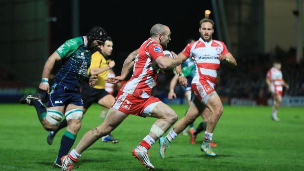 Charlie Sharples scored his side's opening try