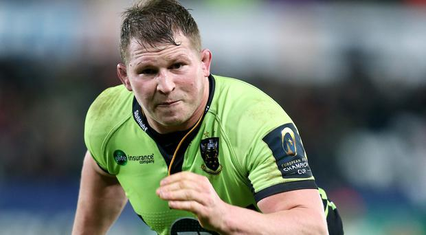Dylan Hartley is raring to go against Clermont