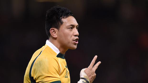 Christian Lealiifano led the Brumbies to victory.