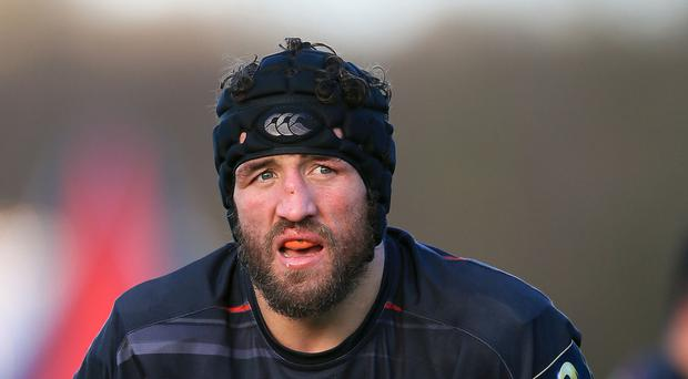 Flanker Jacques Burger is suspended for Saturday's Aviva Premiership clash against Leicester