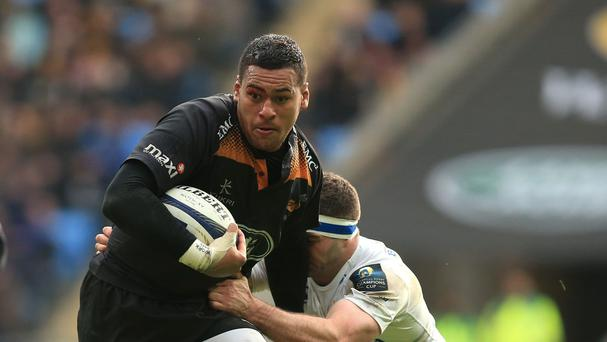 Wasps number eight Nathan Hughes, left, has won an appeal against a three-week ban