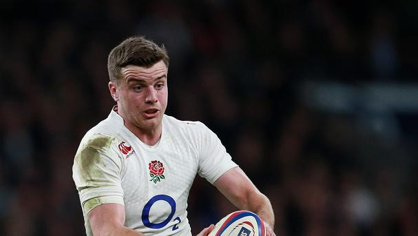 England's George Ford was in inspired form for Bath in their win over Newcastle