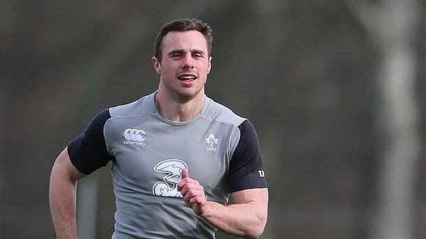 Tommy Bowe (above) and Andrew Trimble will start for Ulster against Edinburgh at Goldenacre