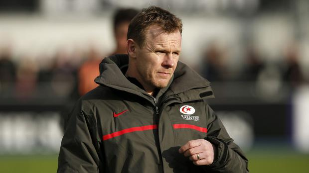 Mark McCall, pictured, says Owen Farrell is nearing a return from injury