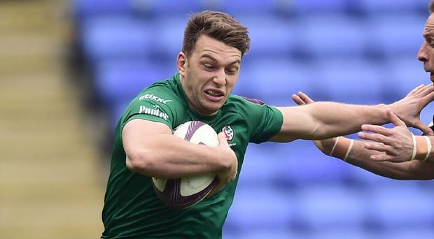 Alex Lewington crossed over twice for London Irish