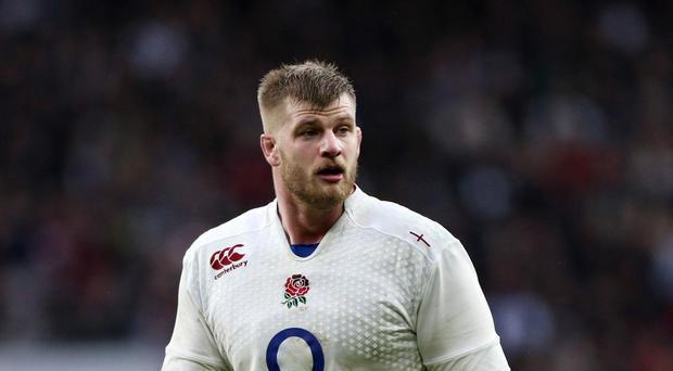England lock George Kruis has agreed a