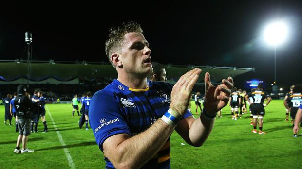 Leinster captain Jamie Heaslip