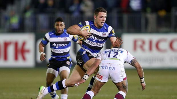 Sam Burgess is set to play at blindside flanker again for Bath