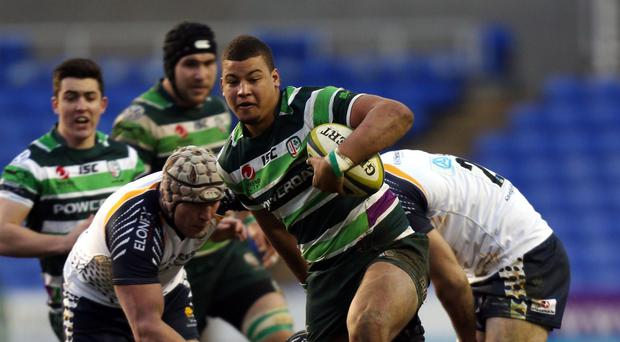 London Irish's Guy Armitage, who is to join London Welsh for next season