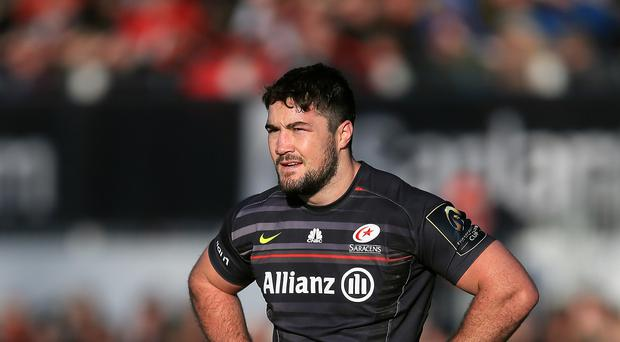 Saracens and England centre Brad Barritt