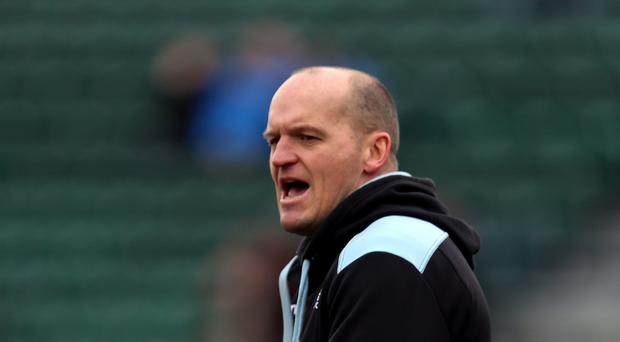 Glasgow coach Gregor Townsend, pictured, is focused on a top-four finish