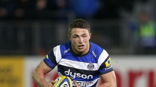 Bath's Sam Burgess was in superb form on Friday night