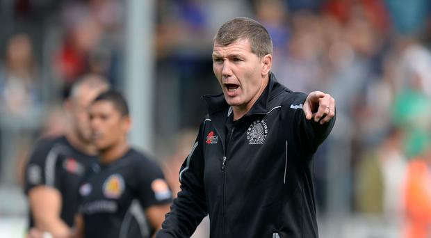 Exeter head coach Rob Baxter is set for the season finale