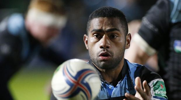 Niko Matawalu was among the Glasgow Warriors tryscorers in the win at Connacht.