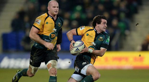 Lee Dickson, pictured right, wants Northampton to build lasting success