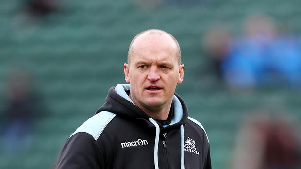 Glasgow Warriors head coach Gregor Townsend, pictured, has clinched the signings of Sam Johnson and Greg Peterson