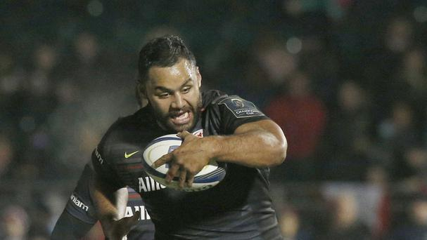 England forwards Billy Vunipola (left) and Mako Vunipola have signed contract extensions with Saracens
