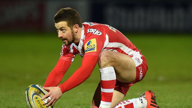 Gloucester scrum-half Greig Laidlaw will line up against his old club