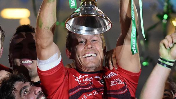 Toulon are bidding for an unprecedented third straight European crown to