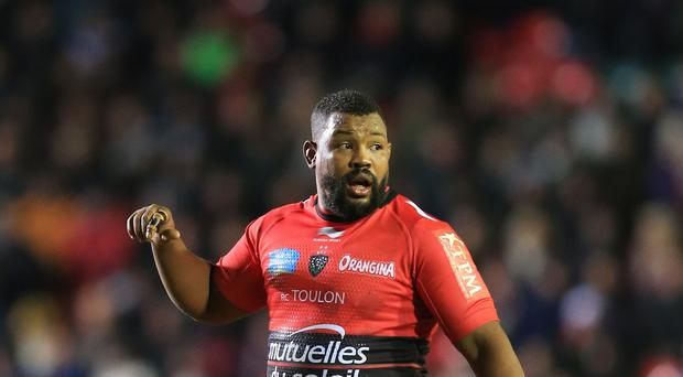 Toulon owner Mourad Boudjellal believes England must select Steffon Armitage, pictured, to win the World Cup