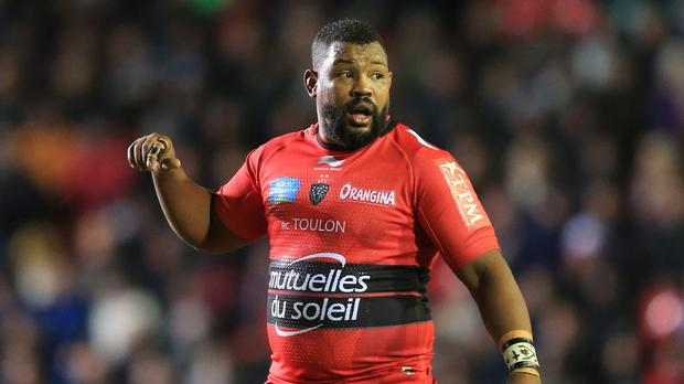 Steffon Armitage, pictured, should be allowed to play for England at this year's World Cup, according to Toulon captain Carl Hayman