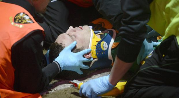 George North has suffered a spate of head injuries and concussions