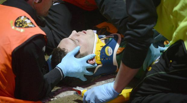 George North has suffered several head injuries this season