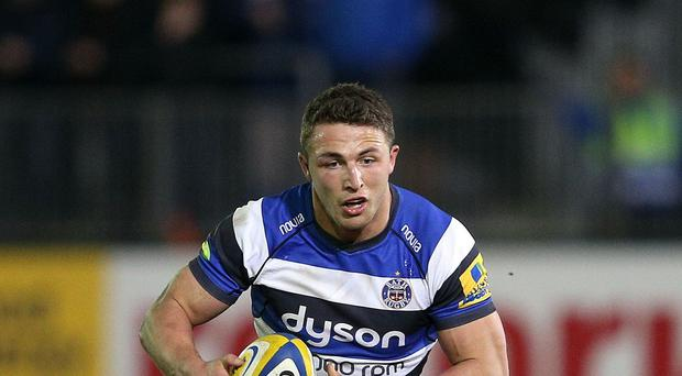 Sam Burgess, pictured, has been tipped to make Stuart Lancaster's England squad