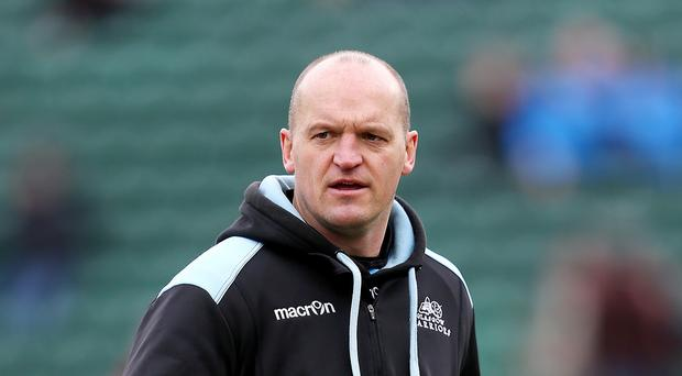 Glasgow warriors head coach Gregor Townsend hopes to see his side finish the regular Guinness Pro12 season on top of the table