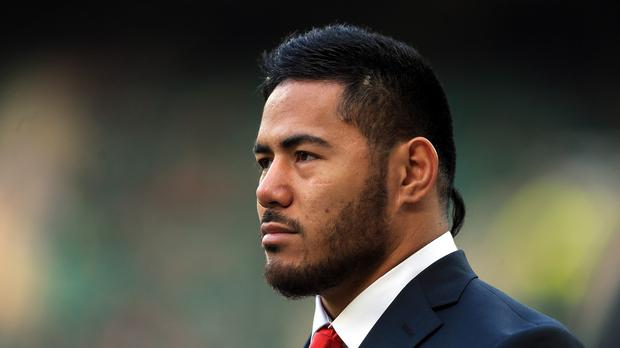 England centre Manu Tuilagi has been fined for assaulting a police officer and criminal damage.