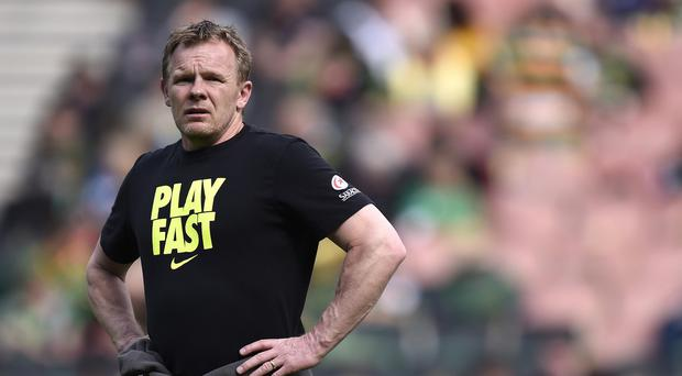 Saracens director of rugby Mark McCall was understandably delighted to see his side claim a play-off berth