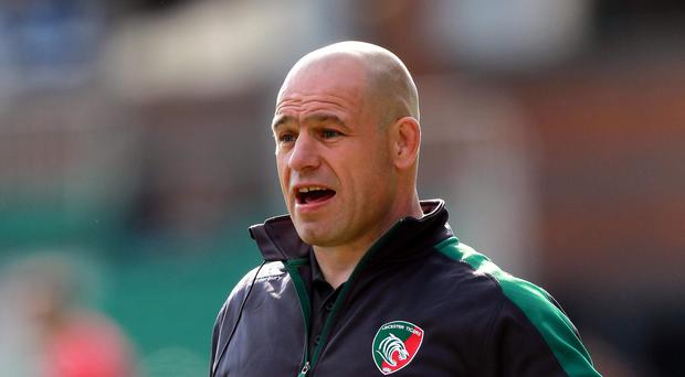 Leicester rugby director Richard Cockerill, pictured, will not make any rash decisions about Manu Tuilagi