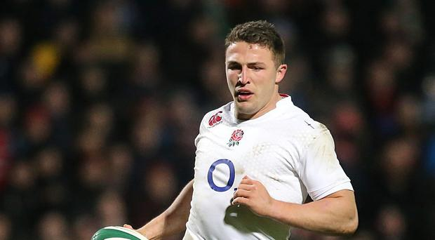 Sam Burgess is vying for a place in England's World Cup squad
