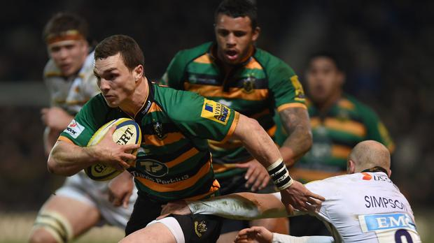 George North is unlikely to return after concussion trouble for Northampton this weekend