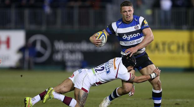 England could use Sam Burgess, right, as a 'hybrid centre'