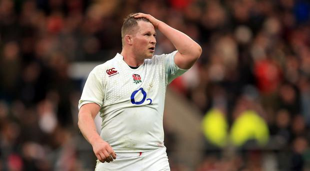 Dylan Hartley faces a disciplinary hearing on Wednesday night