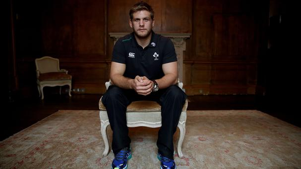 Chris Henry, pictured, is set to make his first Ireland appearance since suffering a mini-stroke