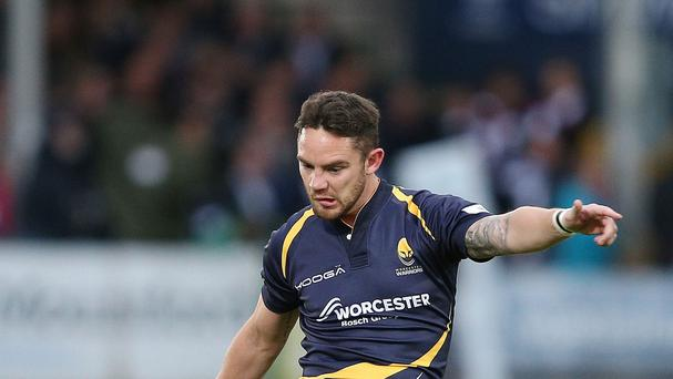 Ryan Lamb held his nerve to ensure a return to the Premiership for Worcester.