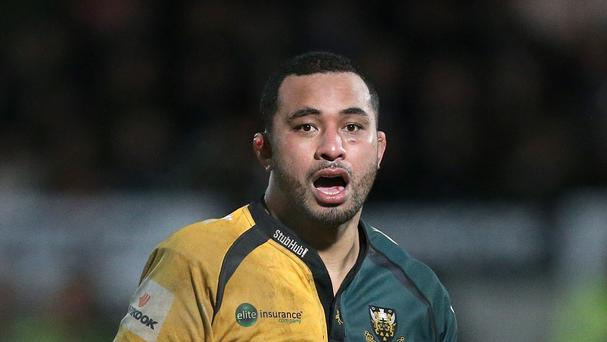 Samu Manoa is among a group of 10 players who will be leaving Northampton this summer