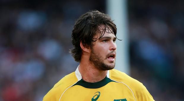Australia's Sam Carter was injured during the Brumbies' 22-16 win in Canberra
