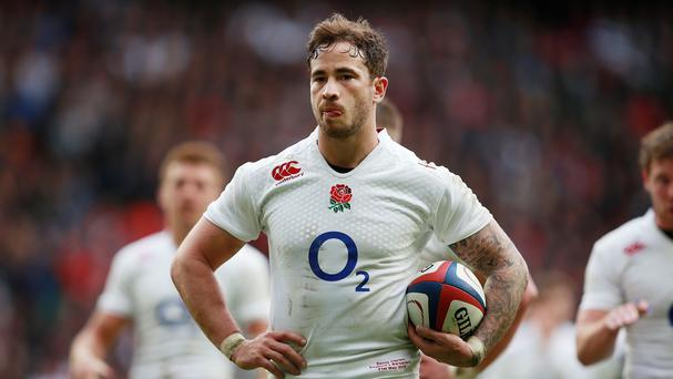 England's Danny Cipriani was named man of the match against the Barbarians