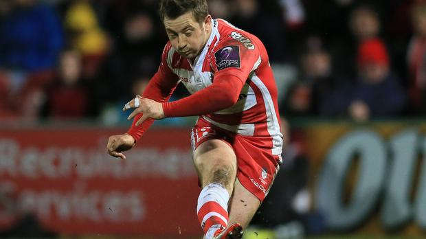 Greig Laidlaw's 17 points were not enough as Gloucester lost 23-22