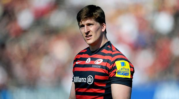 Saracens wing David Strettle is to join Clermont next season
