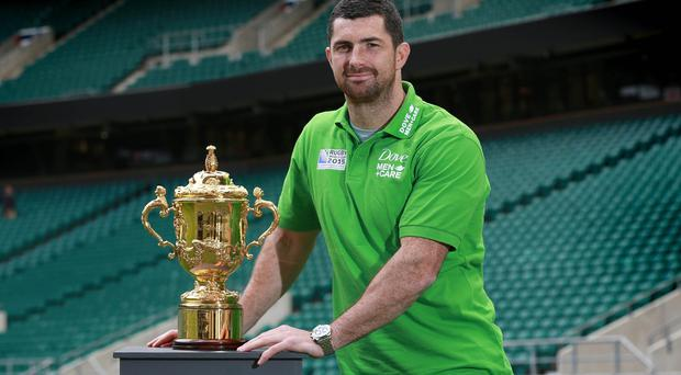 Rob Kearney admits the mind games have begun over the World Cup