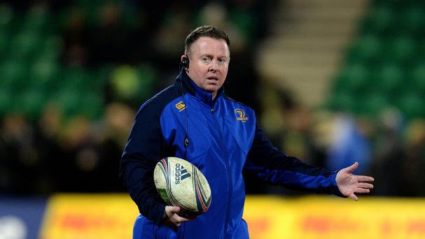 The sacking of Matt O'Connor, pictured, has prompted Leinster's scrum coach Marco Caputo to resign