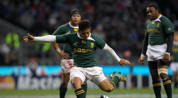 Elton Jantjies was unable to kick the Lions to victory