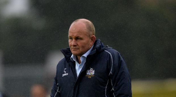 Bristol boss Andy Robinson, pictured, paved the way for Danny Wilson to leave the west country