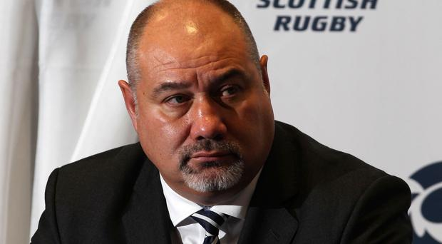 Roy Laidlaw says Scottish Rugby chief executive Mark Dodson's (pictured) target of winning the Rugby World Cup is unrealistic