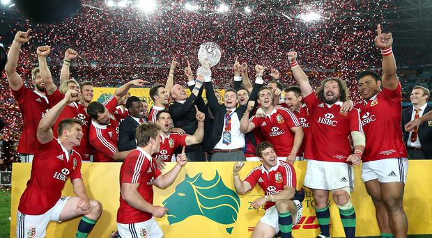 Charlie McEwen is the new chief executive of the British & Irish Lions
