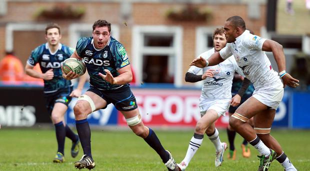 Wales international Andries Pretorius, pictured left, was forced to quit rugby by a rare auto-immune condition